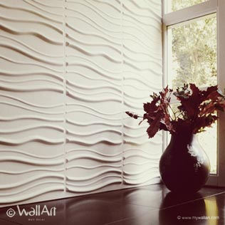 3D Decorative Wall Panels & Tiles | 3D Wall Decor & Covering